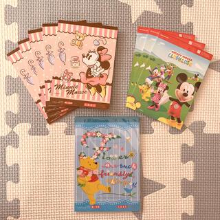 Disney - ディズニー メモ帳セット