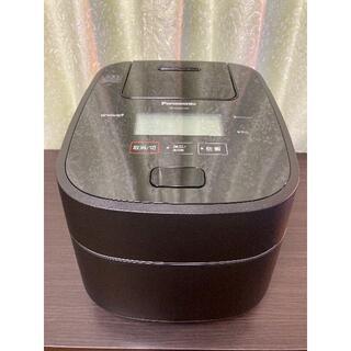 パナソニック(Panasonic)の【展示未使用品・付属品完備・保証あり】SR-CVSX100 ブラック(5.5合)(炊飯器)