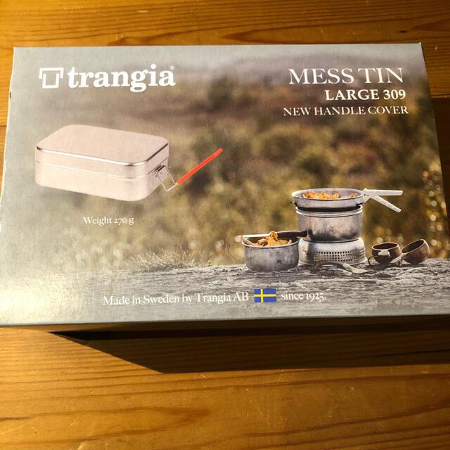 PRIMUS(プリムス)のTrangia トランギア メスティン ラージ レッドハンドル TR-309 スポーツ/アウトドアのアウトドア(調理器具)の商品写真