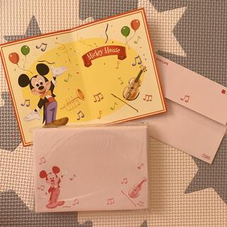 ディズニー(Disney)のディズニー メッセージカード 20組セット(カード/レター/ラッピング)
