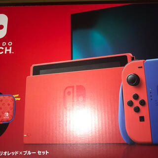 Nintendo Switch マリオ レッド×ブルー セット