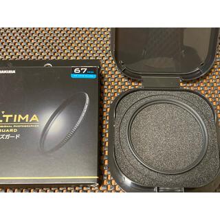 ハクバ(HAKUBA)のHAKUBA 67mm レンズフィルター ULTIMA WR 透過率99.5%(フィルター)