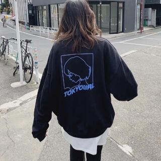 フーズフーギャラリー(WHO'S WHO gallery)のTOKYO girl トレーナー(トレーナー/スウェット)