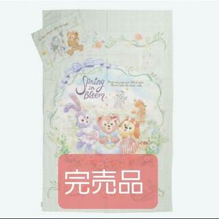 ダッフィー - パーク完売 ダッフィー スプリングインブルーム 掛け布団カバー枕カバーセット