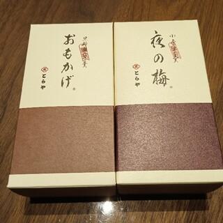 ミツコシ(三越)のとらや おもかげ 夜の梅(菓子/デザート)