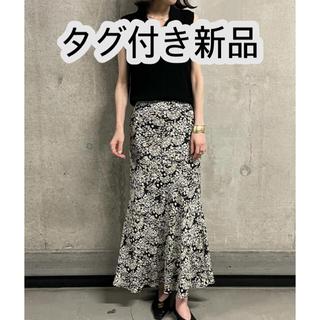 Mila Owen - 【タグ付き新品】ミラオーウェン マーメイド花柄ナロースカート