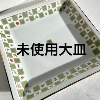 平皿 大皿 パスタ皿 新品未使用 お皿 器 うつわ 焼物 陶芸 キッチン 食器