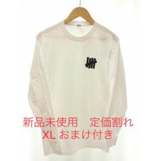 アンディフィーテッド(UNDEFEATED)の新品未使用 定価割れ おまけ付き undefeated ロゴTシャツ(Tシャツ/カットソー(七分/長袖))