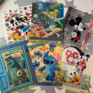 ディズニー(Disney)のディズニー クリアファイル(ファイル/バインダー)