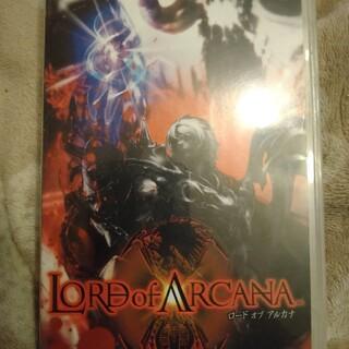 プレイステーションポータブル(PlayStation Portable)のロード オブ アルカナ PSP(携帯用ゲームソフト)