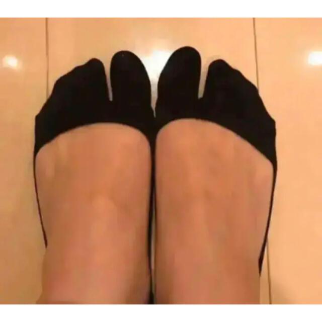 Maison Martin Margiela(マルタンマルジェラ)の<<即発>> はみ出さない 二本指 靴下 マルジェラ エアリフト レディースのレッグウェア(ソックス)の商品写真