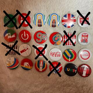 コカコーラ(コカ・コーラ)のコカコーラ 缶バッジ バラ売り可能(バッジ/ピンバッジ)