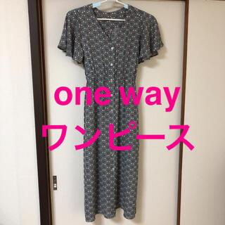ワンウェイ(one*way)のOne way ロングワンピース ワンウェイ(ロングワンピース/マキシワンピース)