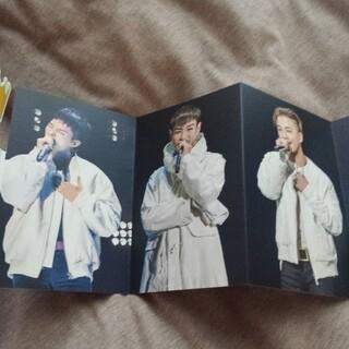 ビッグバン(BIGBANG)のBIGBANGファンクラブ特典!メッセージカード未使用!(アイドルグッズ)