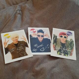 ビッグバン(BIGBANG)のBIGBANGファンクラブ特典!バースデーポストカード!未使用!(アイドルグッズ)