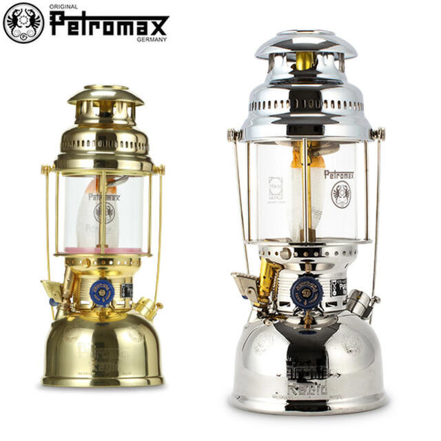 Petromax(ペトロマックス)の ペトロマックス Petromax HK500 圧力式 灯油ランタン ブラス  スポーツ/アウトドアのアウトドア(ライト/ランタン)の商品写真