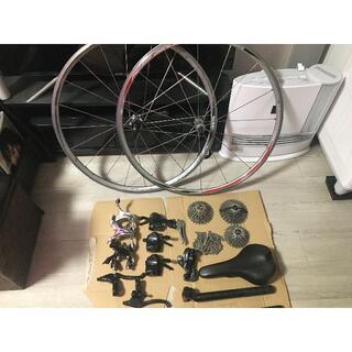 シマノ(SHIMANO)のロードバイク クロスバイク ホイール&コンポーネント セット SORA 9S(パーツ)