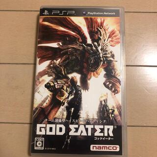 プレイステーションポータブル(PlayStation Portable)のゴッドイータ(携帯用ゲームソフト)