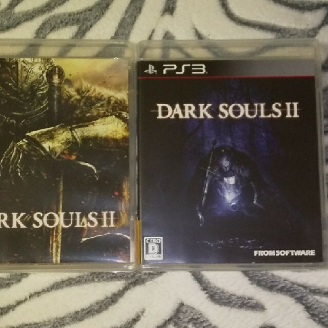 PlayStation3(プレイステーション3)の未使用 DARKSOULS Ⅱ+初回生産限定サウンドトラック エンタメ/ホビーのゲームソフト/ゲーム機本体(家庭用ゲームソフト)の商品写真