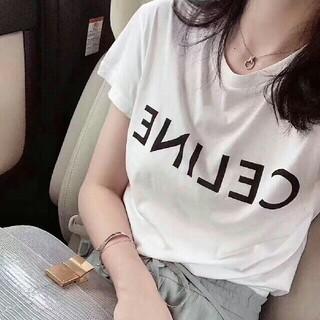 セリーヌ(celine)の✨2枚5800円 セリーヌCELINE半袖Tシャツ#3(Tシャツ(半袖/袖なし))