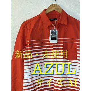 アズールバイマウジー(AZUL by moussy)のAZUL BY MOUSSY アズールバイマウジー 新品 メンズ シャツ(シャツ)