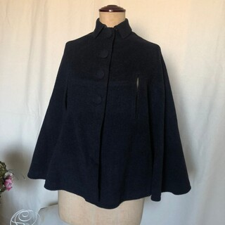 30's 40's French vintage wool cape(ポンチョ)