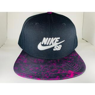 ナイキ(NIKE)のnike sb キャップ ダンク dunk cap 420 大麻 舐達麻 紫(キャップ)