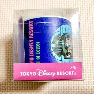 ディズニー(Disney)のディズニーリゾート ロールメモ(ノート/メモ帳/ふせん)