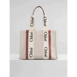 Chloe - Chloe クロエ woody M サイズ トートバッグ