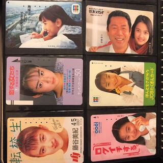 #13206 使用済みテレカ 昭和のアイドルF