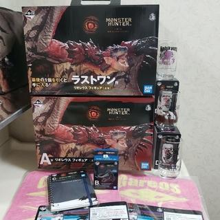 BANDAI - 最安値 一番くじ モンハン ラストワン賞 A賞 リオレウス フィギュア B賞