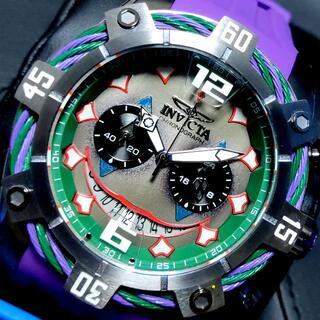インビクタ(INVICTA)の定価12万円 インビクタ 高級腕時計 バットマン ジョーカー 激レア!(腕時計(アナログ))