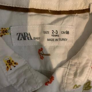 ザラ(ZARA)のオシャレキッズに^ ^ZARA柄シャツ(Tシャツ/カットソー)