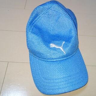 プーマ(PUMA)のPUMA メッシュCAP ジュニア 54cmくらい(帽子)