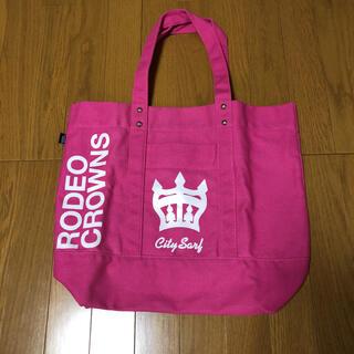 RODEO CROWNS - ロデオクラウンズ トートバッグ ハッピーバッグ ピンク
