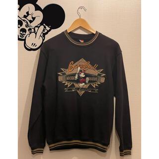 ディズニー(Disney)のミッキーマウス 90s 古着 トレーナー スウェット(トレーナー/スウェット)