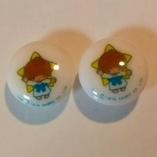 昭和レトロ キキ ボタン 2個