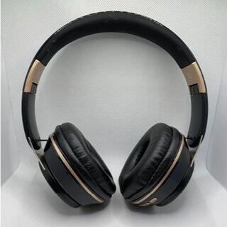 ワイヤレスヘッドフォン Bluetooth5.0 マイク 密閉型 ブラック(ヘッドフォン/イヤフォン)