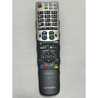 アクオス(AQUOS)のシャープ AQUOS テレビリモコン GA835WJSA(その他)