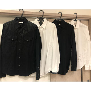 ZARA - 【4枚セット】ドレスシャツ、ZARA、BUONA GIORNATA