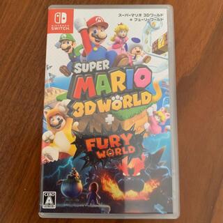 Nintendo Switch -  ユリサヤ専用switch スーパーマリオ3D ワールド + フューリーワールド