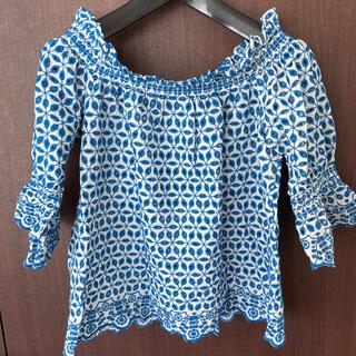 ベネトン(BENETTON)のオフショルダーシャツ(カットソー(半袖/袖なし))