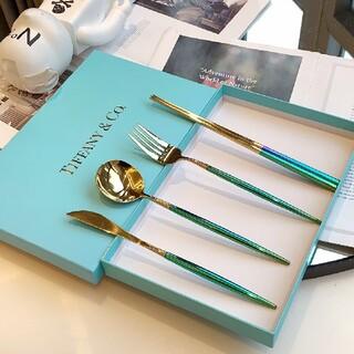 Tiffany & Co. - ❤☆早い者勝ち!即購入OK❀シャネル❤食器       刀叉一套