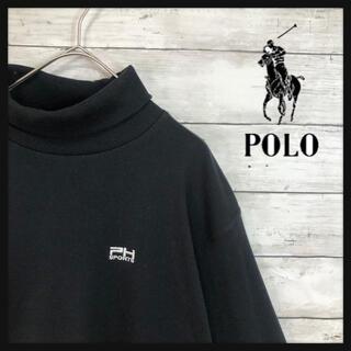 POLO RALPH LAUREN - ポロスポーツ ワンポイント刺繍 薄手タートルネックトレーナー