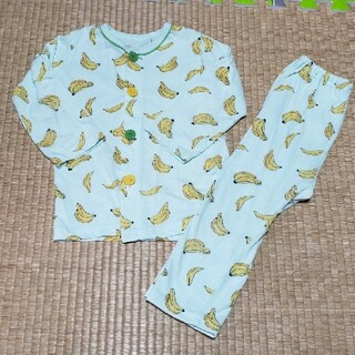 バナナ柄 薄手パジャマ