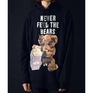 MILKBOY - MILKBOY NEVER FEED BEAR パーカー くま フーディー