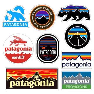 patagonia - パタゴニア アウトドアステッカー9枚セット