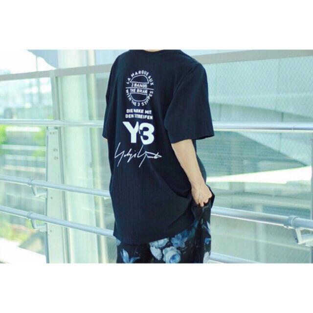 Y-3(ワイスリー)のY-3 M SS TEE STREET ロゴTシャツーBlack メンズのトップス(Tシャツ/カットソー(半袖/袖なし))の商品写真