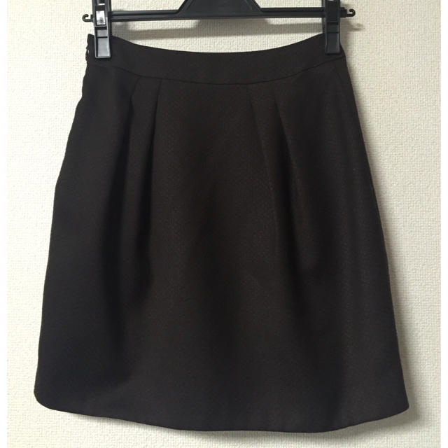 Apuweiser-riche(アプワイザーリッシェ)の✳︎アプ  チョコレートブラウンスカート✳︎ レディースのスカート(ミニスカート)の商品写真