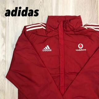 アディダス(adidas)の【新品未使用】企業ロゴ adidas ナイロンジャケット(ダウンジャケット)